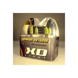 H1 LEMON YELLOW BULBS 4200K - 55W- PAIR IN BOX