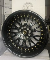 "59°North Wheels D-003 11x18"" ET15 5x114/5x120 Glossblack"