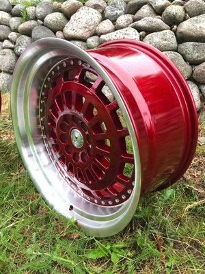 "59°North Wheels D-003 9,5x19"" ET25 5x114/5x120 Candyred/polished"